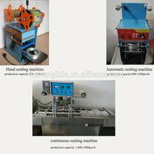 heat sealing machine/ plastic cup sealing machine/sealer