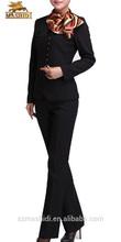 Venda quente de alta qualidade mais recente uniformes escritório para senhoras