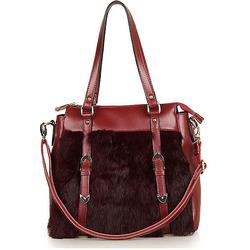 GL509 wholesale alibaba Winter design designer leather fur woman's bag