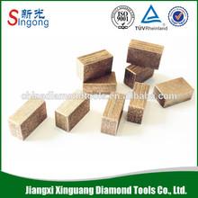 Diamond cutter blade segment for stone