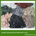 Los polímeros de acrílico para la decoración de la pared con textura recubrimientos qs-f1