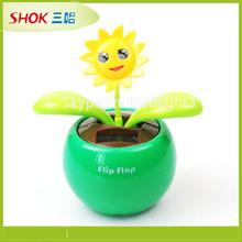 plastic production solar toys solar flower solar plastic factory