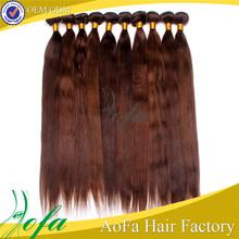 Hot sale 5a grade unprocessed virgin #4 remy brazilian straight hair