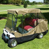 """2 Passengers golf cart storage cover (with 2 seater roof up to 58"""") 108Lx48Wx66"""""""