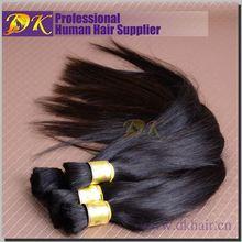 DK Guangzhou brazilian remy hair raw european human hair