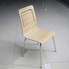 Cheap canteen bent wood dinning chair