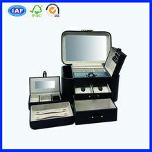 large black jewelry holder jewelry box dresser with drawer