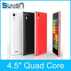 Cheap 1gb ultra slim android 4.4 dual sim 3g gps mobile smart phone