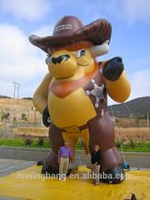 NB Popular Hot inflatable bull for advertising