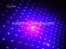Vermelho e azul fogos de artifício partido luz laser/8 celebração do feriado padrões grating laser luz/mini loja de luz