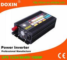 12v/24v 220v dc to ac Modified Sine Wave UPS Inverter Battery Charger Battery