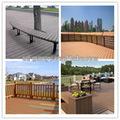 Panel de madera wpc suelo exterior anti- uv al aire libre