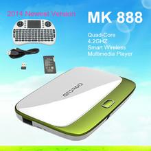 android tv box cs918 2gb ram 8gb rom android 4.4 quad core rk3188 mini pc External WiFi Antenna .Port:USB,HDMI ,Micro USB ,Mic