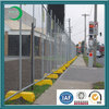 portable painted used temporary metal fence panels