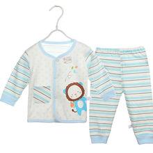M61873A pure cotton soft lovely autumn infant clothes,fashion baby underwear