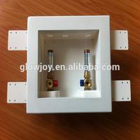 glowjoy china supplier washing machine box with valves with water hammer arrestor