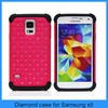 High Quality mobile phones accessories for samsung galaxy s5 i9600 case with many stars