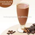 la fábrica de china saludable de las bebidas en polvo sabor a chocolate