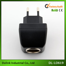 AC DC Universal Car Cigarette Lighter Socket Car Adapter Plug