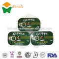 El buen gusto fabricante 125g*50tinsingrediente en conserva de pescado sardina en aceite vegetal 125g