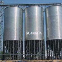 60 angle hopper bulk grain silo for sale