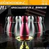 popcorn electronic hookah high quality e hookah H5 hookah tobacco flavour