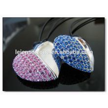 Jewelry usb flash memory,heart jewelry usb,heart jewelry usb flash drive