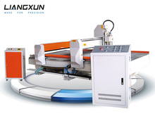 LX1325 two function! CNC & laser machine for metal and non metal