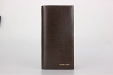 2014 man genuine leather wallet travel wallet Guangzhou Factory