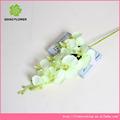 flor artificial de orquídea arranjos para fazer a decoração da parede