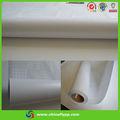 Las ventas caliente 7085 matt laminación en frío de la película del pvc de papel blanco con líneas verdes, gran imagen de la película de protección