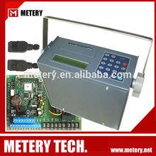 Ultrasonic milk flow meter sensor for liquids