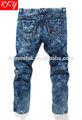 Alta qualidade jeans homens jeans slim fit moda macacão jeans para homens btdl7054-a