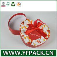 custom size matt lamination ribbon small gift box packaging