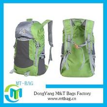 2014 promotional lightweight folding travel bag waterproof foldable backpack