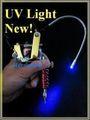 Led tatouage noir UV lampe de travail Machine Gun mont blacklight, Uv LED pour Machine à tatouer d'alimentation réglable