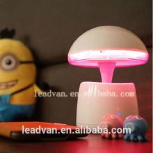 Creative Gifts Colorful LED Bluetooth Speaker Support BT Speaker, Lamp, Alarm Clock