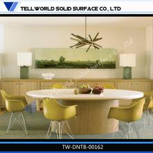 Home dining room furniture modern elegant big round dining table set