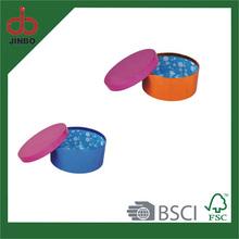 Eco-friendly Custom small Metallic Storage Gift pack Box with Custom Logo