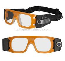 Full HD 1920*1080P 5.0MP COMS Outdoor waterproof Sports Camera Glasses DVR Camera AT80