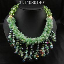 glitter sticker necklace