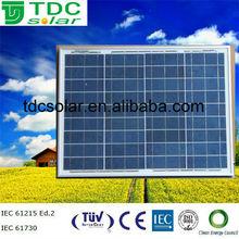 High efficiency solar panels 50 watt