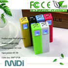 Pisen 2600mAh perfume candy color external portable power bank for electronic products