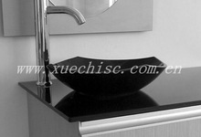 Wholesale China black granite modern kitchen countertop
