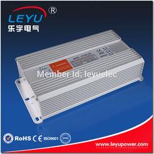 200W Constant Voltage 12V 24V 36V 48V Waterproof LED Driver IP67