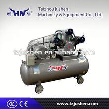 Piston air compressor asme tank 1155 lires per min air delivery.