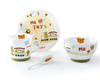 modern houseware fine porcelain children dinner sets for promotion