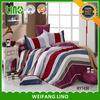100% cotton printed bed linen custom/modern duvet cover/cotton queen sheets