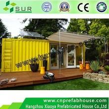 European style Light Steel Structure prefabricated Villa