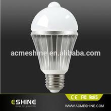 7W Cool White Motion Sensor Induction Detection LED Lamp Light Bulb PIR Human